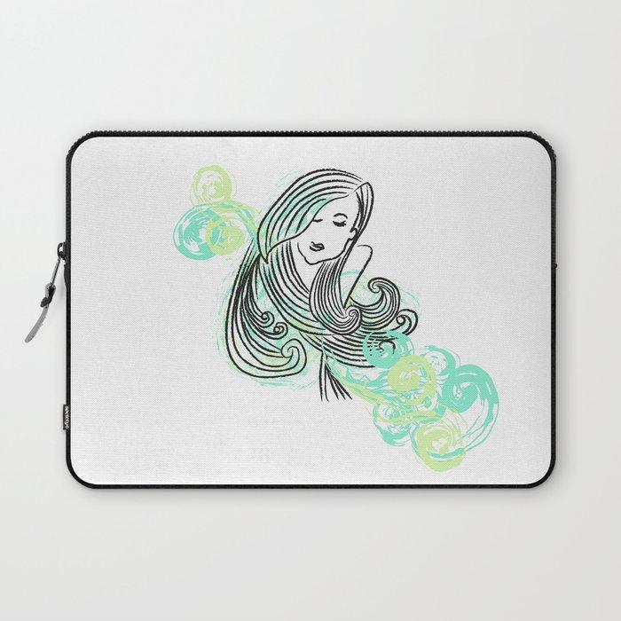 I dream of the sea Laptop Sleeve