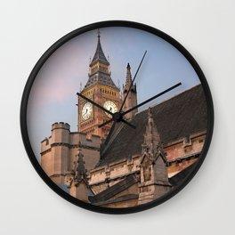 Big Ben over London Wall Clock