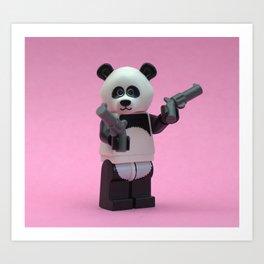Banksy Panda Art Print