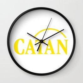 Catan Wall Clock