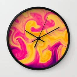 Marble Violet Wall Clock