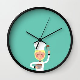 It's Whisk Time! Wall Clock