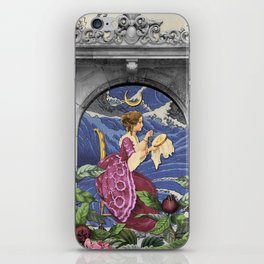THE HIGH PRIESTESS TAROT CARD iPhone Skin