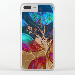 Branched Clear iPhone Case