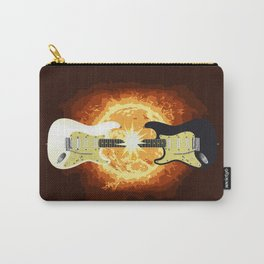 Two Guitars Carry-All Pouch