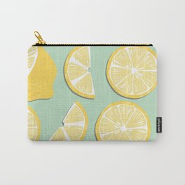 Lemon Pattern 11 Carry-All Pouch