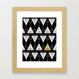 Bill Cipher - Gravity Falls Framed Art Print