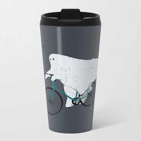 Negative Ghostrider G Metal Travel Mug