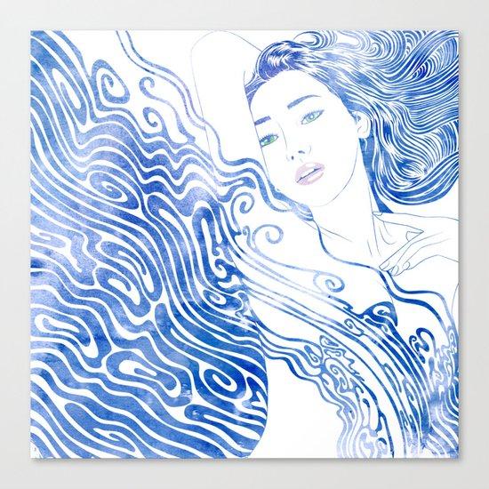 Water Nymph LXXVIII Canvas Print