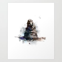 Sorting Hat Art Print