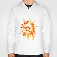 supernatural Hoodies featuring Supernatural by Rose's Creation