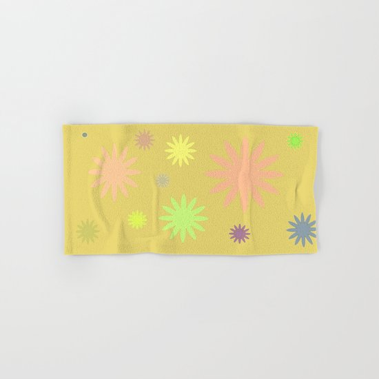 Floral Hand & Bath Towel