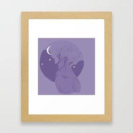 Moonsetter Framed Art Print