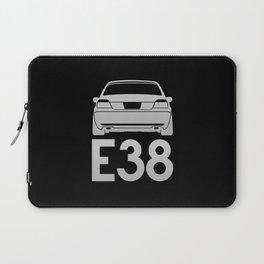 BMW E38 - silver - Laptop Sleeve
