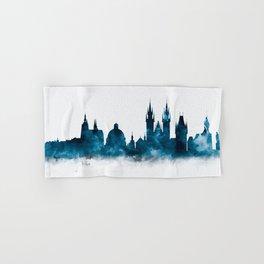 Prague Skyline Hand & Bath Towel