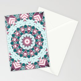 Rustic patchwork 2 Stationery Cards