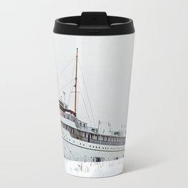 SS Keewatin in Winter White Travel Mug