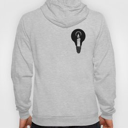 a candle Hoody