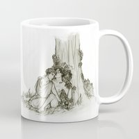 heroes of olympus Mugs featuring Olympus by InkyThoughts