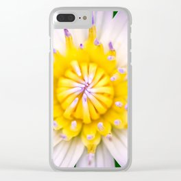 Flower photography by Hoover Tung Clear iPhone Case
