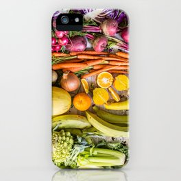 Eat the Rainbow iPhone Case