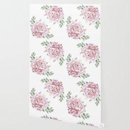 Pink Roses Duet Wallpaper