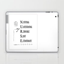 NURSE DEFINED Laptop & iPad Skin