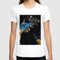 senna T-shirts featuring Ayrton Senna 1985 Lotus  by Borja Sanz Design
