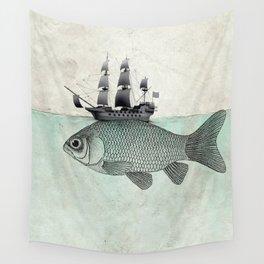 Voyage Goldfish Wall Tapestry