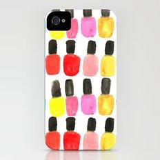 Nail Polish iPhone (4, 4s) Slim Case