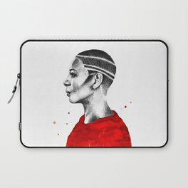 Red Profile Laptop Sleeve
