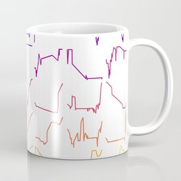 Fish tracks Coffee Mug