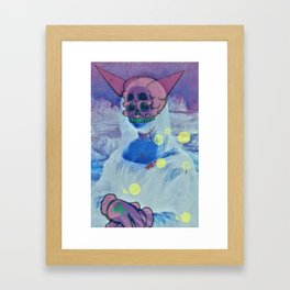 smile before you die Framed Art Print