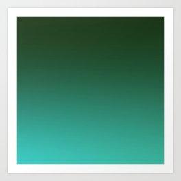 SHADOWS AND COUNTERPARTS - Minimal Plain Soft Mood Color Blend Prints Art Print