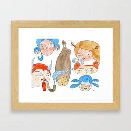 Secret Rendezvous Framed Art Print