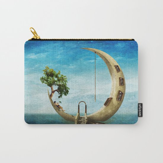 Home Sweet Moon Carry-All Pouch