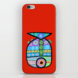 Fish which ate ship iPhone Skin