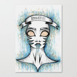 Human After All Canvas Print