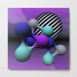 blobtime -01- Metal Print