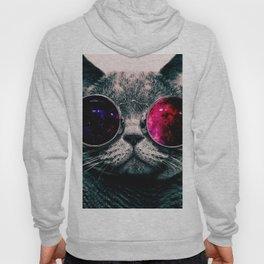 sunglasses cat Hoody