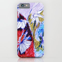 Floral Orchestra #5 iPhone Case