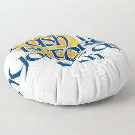 Cash in Before You Cash Out Floor Pillow