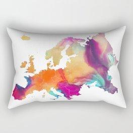 Europe map 1 Rectangular Pillow