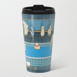 The Bathers Travel Mug