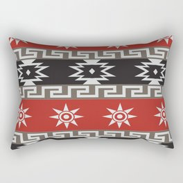 American Native Pattern No. 6 Rectangular Pillow