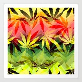 Marijuana Art Print