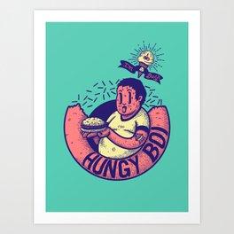 HUNGY BOI Art Print
