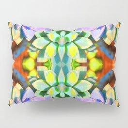 Succulent Color - Botanical Art by Sharon Cummings Pillow Sham