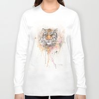 "trippy Long Sleeve T-shirts featuring ""Trippy Tony"" by PaintedBunting"