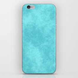 Blueberry Cotton Candy iPhone Skin